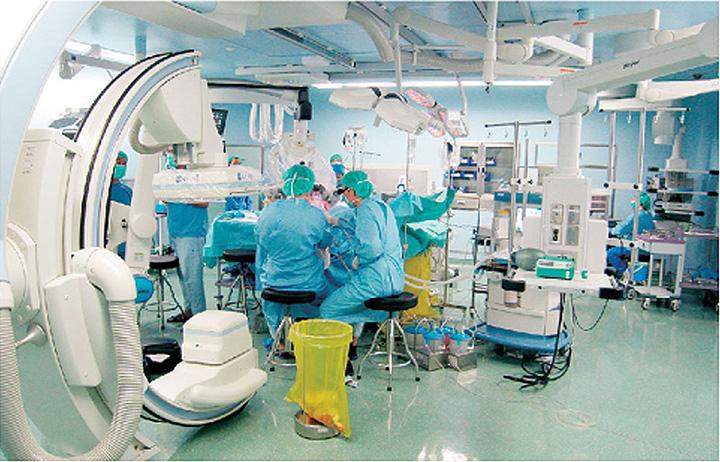 Inside Operation Theatre Shihezi University